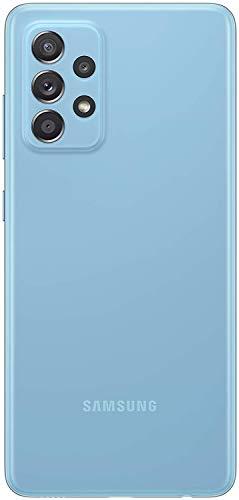 Samsung Galaxy A52 5G Smartphone ohne Vertrag 6.5 Zoll Infinity-O FHD+ Display, 128 GB Speicher, 4.500 mAh Akku und Super-Schnellladefunktion, blau, 30 Monate Herstellergarantie [Exklusiv bei Amazon] - 4