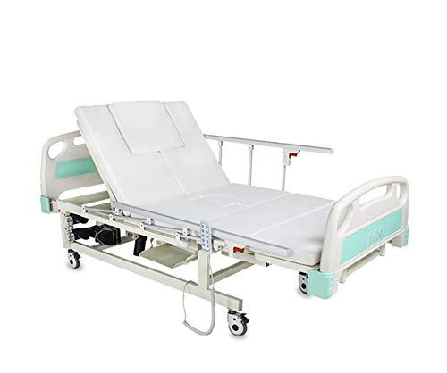 Multi Función Hogar Anciano Cuidado Cama De Enfermería Eléctrica Para Paciente, Reposapiés Ajustable Médico Cama De Hospital Médica Con Inodoro