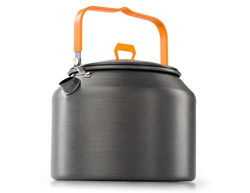 GSI Outdoors Halulite 1.8 qt. Tea Kettle Ultralight Aluminum with Superior Heating