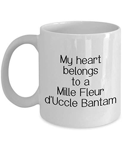 Mille Fleur D'Uccle Bantam Chicken Mug