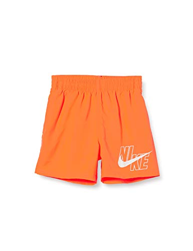 Nike Jungen 4 Volley Short Schwimm-Slips, Total Orange, XS