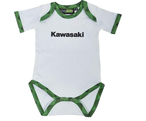 Kawasaki Sports - Pelele para niños (talla 68), color blanco