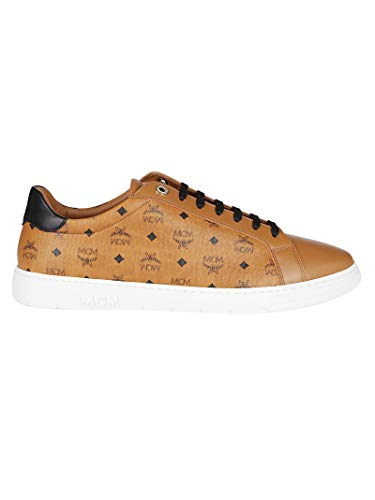 MCM Luxury Fashion Herren MEXAAMM11CO Beige Leder Sneakers | Herbst Winter 20