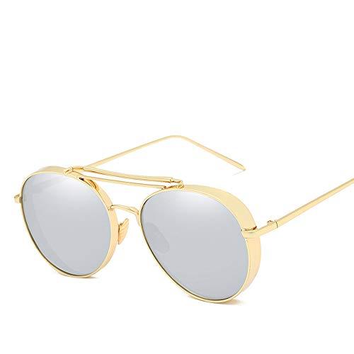 Flying Bird zonnebril, dikke persoonlijkheid, metalen folie, kleur zonnebril, uniseks