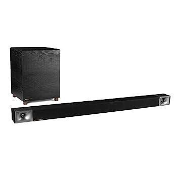 Klipsch Bar 48 Sound Bar + Wireless Subwoofer Black  1066557