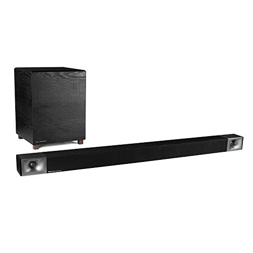 Klipsch Bar 48 Sound Bar + Wireless Subwoofer, Black (1066557)