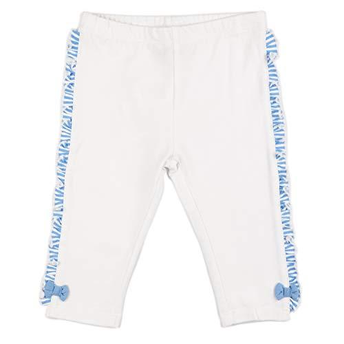 Charanga ELVOLANTE Leggings, Blanco (Blanco 1), 56 (Tamaño del Fabricante:0-6) para Bebés