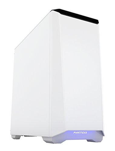 Phanteks Eclipse P400S Midi-Tower Weiß - Computer-Gehäuse (Midi-Tower, PC, ABS Synthetik, Stahl, Weiß, ATX,EATX,Micro ATX,Mini-ATX, 16 cm)
