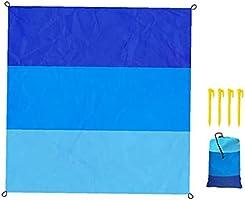 Beach Blanket Picnic Mat Deken Portable Pocket Sandproof Water Resistant Nylon Deken voor Outdoor Travel camping...
