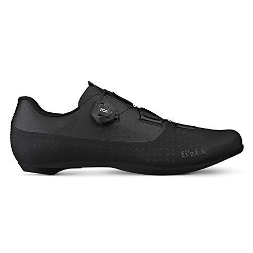 Fizik Tempo Overcurve R4, Zapatillas de Ciclismo Unisex Adulto, Negro, 39