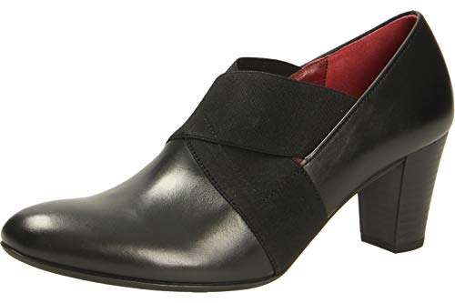 Gabor Damen Comfort Fashion Pumps, Schwarz (Schwarz (Fu Rot) 57), 37 EU