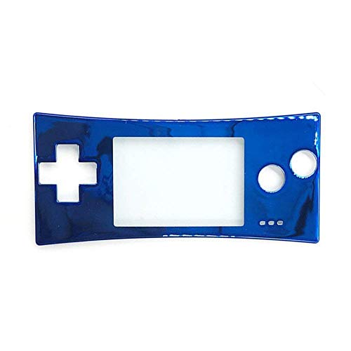 Faceplate Cover Replacement Front Shell Housing Case for Game Boy Micro GBM (Blue)