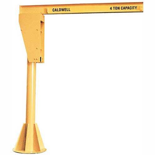 Buy Bargain Caldwell A360-1-10/14, Floor Mounted Jib Crane, 1 Ton, 10' Height, 14' Span