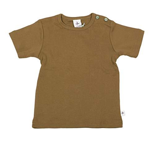 Leela Cotton Camiseta de algodón orgánico para bebé/niño jengibre. 128 cm