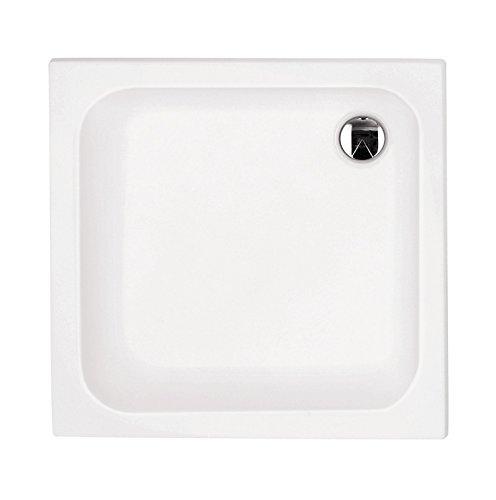 'aquaSu® Acryl - Dusch - Wanne soNo I 90 x 90 cm I Weiß I Duschwanne I Brausewanne I Bad I Badezimmer