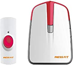 Press Fit Plastic Echo-I Auto-Learning Wireless Door Bell, Standard