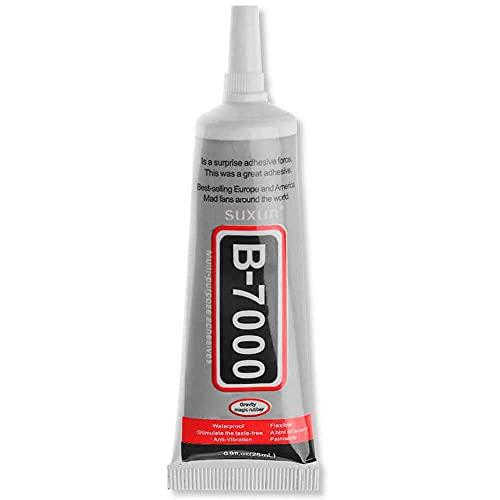 OcioDual Pegamento Universal Adhesivo B-7000 50ml para Pegar Pantalla LCD Tactil Moviles Tablets Industrial Joyas Ceramica DIY