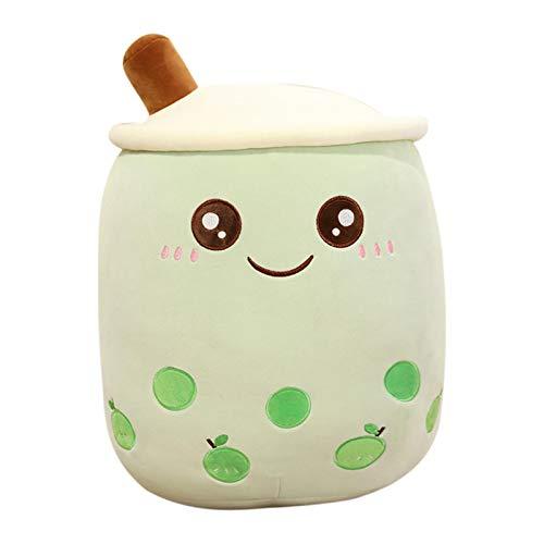 Lindo cojín de taza de té de leche – Bubble Milk Tea Plush Pillow – Peluche de taza de té de leche – Almohada larga de leche