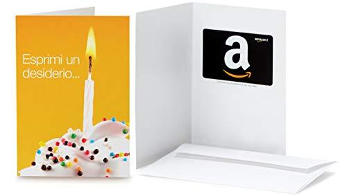 Buono Regalo Amazon.it - Biglietto d'auguri Esprimi un desiderio