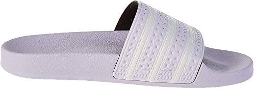 adidas Damen Adilette Slide Sandal, Violett (Purple Tint/Footwear White/Purple Tint), 40 2/3 EU
