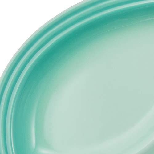 ル・クルーゼ(LeCreuset)皿マルチ・オーバル・プレート(S)クールミント耐熱耐冷電子レンジオーブン対応【日本正規販売品】