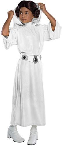 Rubie's Costume Star Wars Classic Princess Leia Deluxe Child Costume, Medium