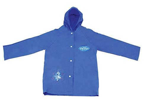 Bang Toys Capa de Chuva Frozen, Azul, Pequeno