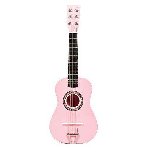 MRKE Ukelele Principiantes Guitarra Niño 23 Pulgada 6 Cuerdas Juguete de Instrumentos...