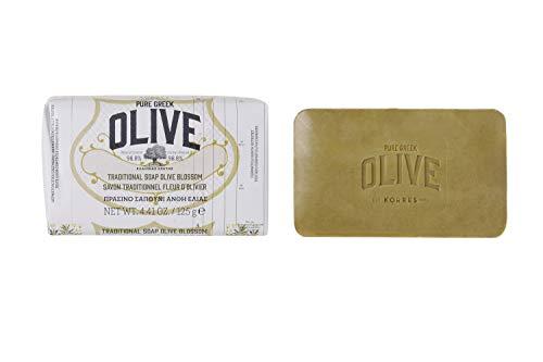 Korres Olive und Olive Blossom Körperseife,1er Pack (1 x 125 g)