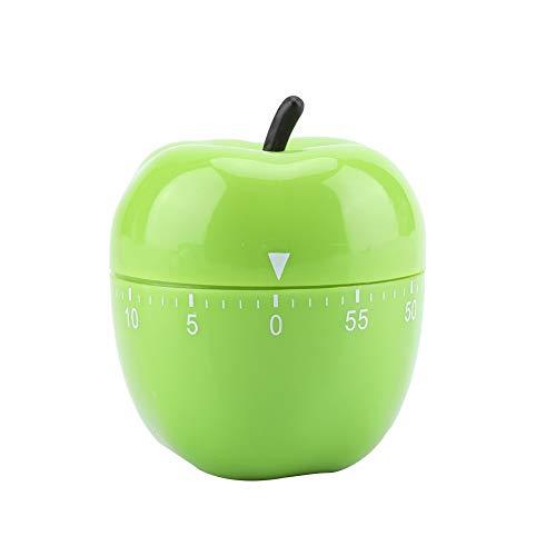 Temporizador de cocina, Temporizador mecánico de cocina Chef manual Temporizador de cocina Reloj Verduras Contadores en forma de manzana 60 minutos