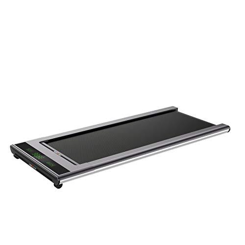 WalkSlim 670 Mini Walk Dünnes Laufband für Zuhause/Büro/unter dem Schreibtisch, leise, automatische Schrittgeschwindigkeit, bis 6 km/h, 3 Jahre Garantie