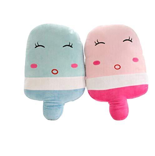 Coussin Popsicle Créatif Personnalité De Popsicle Couple en Peluche Quelques De Crème Glacée Sieste Oreiller Oreiller Jouets for Enfants