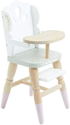 Le Toy Van Educational Wooden Toy Role Play Beautiful Doll High Chair Girls Pretend Play Toy product image