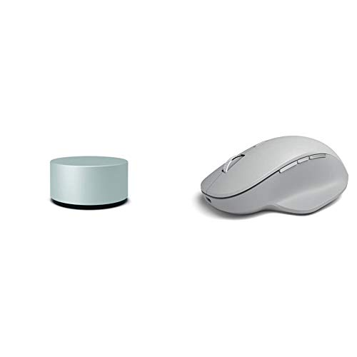 Microsoft Surface Precision Mouse - Grey & Surface Dial