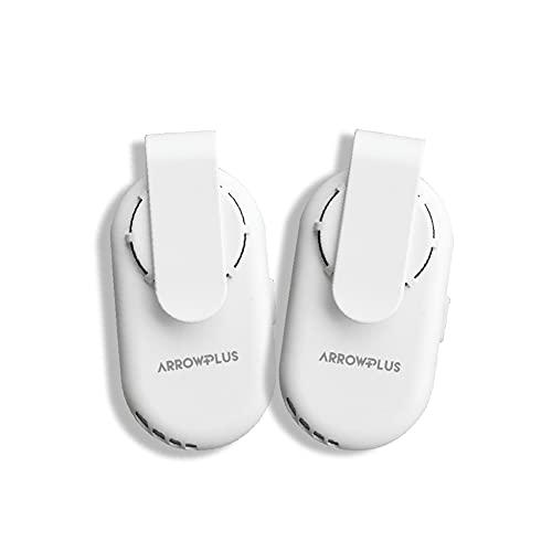【2021年新商品】(2個セット) マスクエアーファン 扇風機 白 ホワイト 蒸れない 熱中症対策 USB充電式 小型 超軽量 おしゃれ 涼しい 夏用 冷感 曇り防止 冷風扇 蒸れ解消 暑さ対策 [xr-m224-2set]