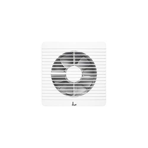 Illux de México Extractor de aire VT-1906.B. silencioso, antirretorno, Elimina olores, vapor y humedad, para baño, cocina, 6...