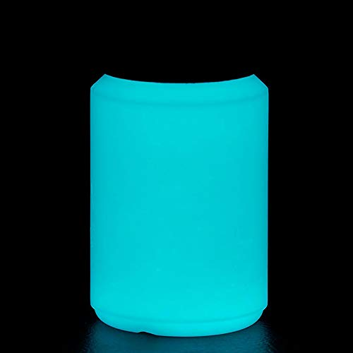 NighTec nachleuchtende Nachtfarbe 100 ml Leuchtfarbe (blau-grün)