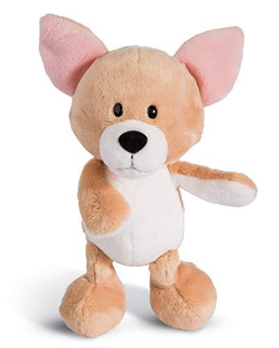 NICI 45104 Kuscheltier Chihuahua 20cm, Plüschtier für Mädchen, Jungen und alle Hundeliebhaber, beige