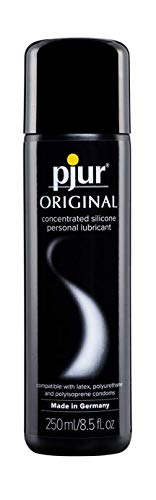 pjur Original Silicone Based Personal Lubricant Intimate Lube for Men & Women, 8.5 oz