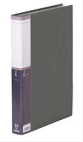 キングジム クリアーファイルSE A4S・60P黒 5136-3クロ
