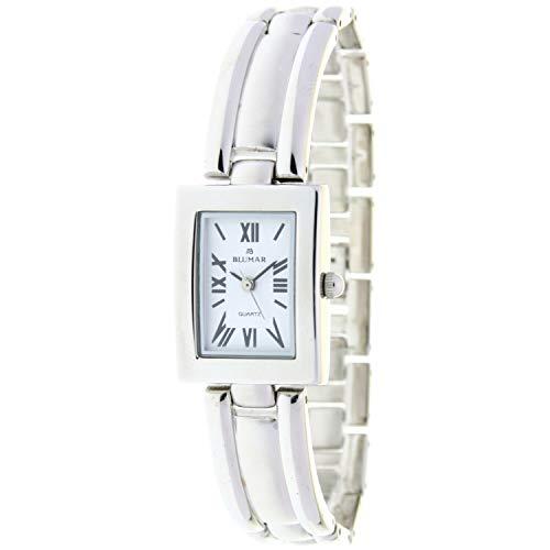 Blumar Bl-09953 Reloj Analogico para Mujer Caja De Acero Inoxidable Esfera Color Blanco