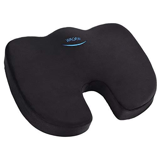 WAOAW Seat Cushion for Office Chair, Chair Cushion of Memory Foam for Car Seat Cushion