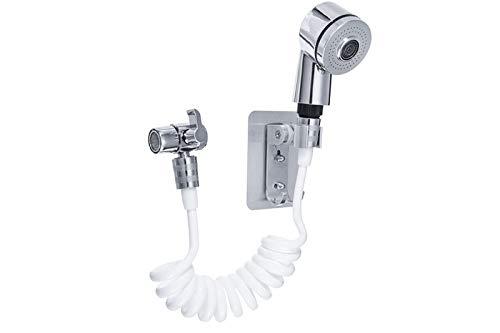 Doccia a mano doccetta portatile tubo flessibile rubinetto deviatore bagno 8826