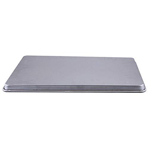 Bakplaten, Aluminium Bakplaat Rechthoekig 60 * 40 Bakplaat Brood Cake Toast Pizza Oven Bakplaat Bakgereedschap, Bakplaten Antiaanbaklaag, 60X40X51.2