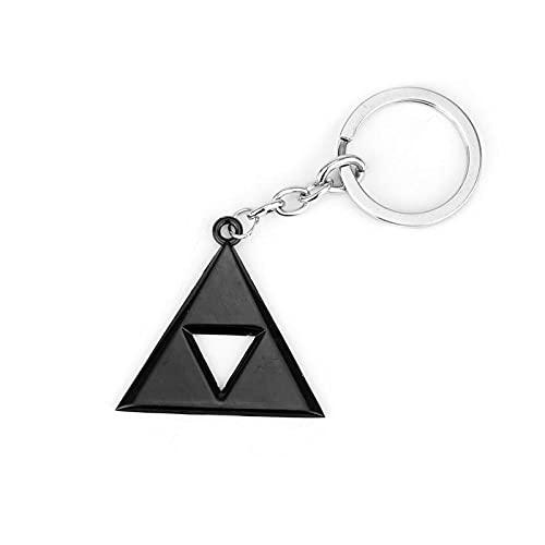 Zelda - Llavero con colgante de Fooderwerk y American New Key Ring Zelda Legend con el mismo llavero hueco para hombres y mujeres