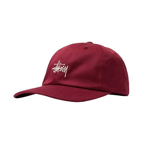 [ステューシー] STUSSY STOCK LOW PRO CAP ローキャップ 6パネル メンズ レディース [131967] BERRY [並行...