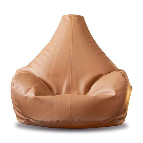 LDIW Puff Funda de Bean Bag Puff Pera Polipiel Bag Reclinable de...