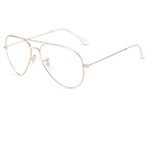 De nieuwe blauwe zonnebrillen, modebrillen, heren- en dameszonnebrillen, leiden hetzelfde punt van gepolariseerd tegen de buitenkant, transparant anti-blauw licht (niet-gepolariseerd)
