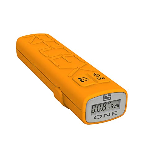 """RADEX ONE Personal RAD Safety""""Outdoor Edition"""" High Sensitivity Compact Personal Dosimeter, Geiger Counter, Nuclear Radiation Detector w/Software"""