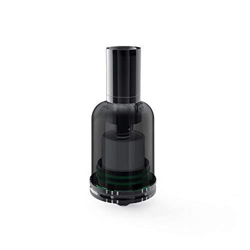Mr Bald II Dry Herb Zerstäuber, ohne Spirale, keine freiliegenden Spulen, abnehmbare Keramikkammer, 510 Gewinde, keine Flüssigkeit, kein Nikotin, kein Tabak (schwarz)